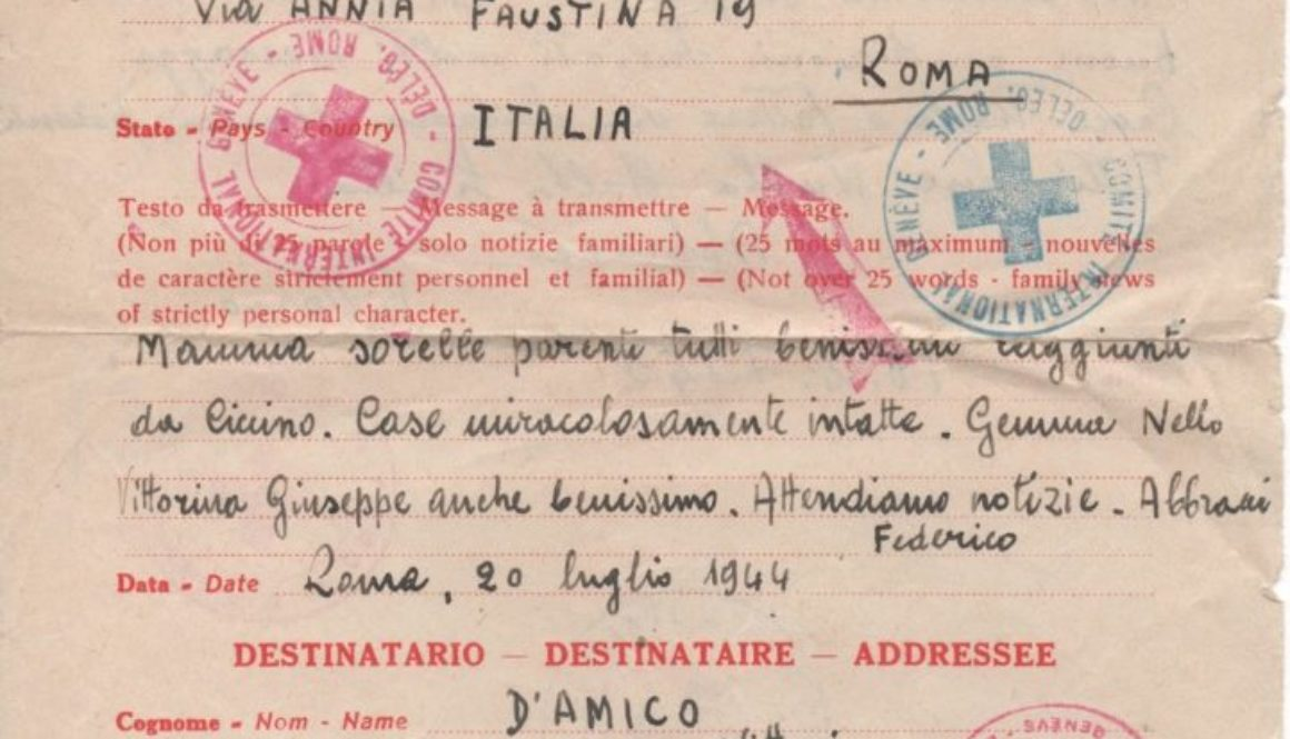1944 croce rossa