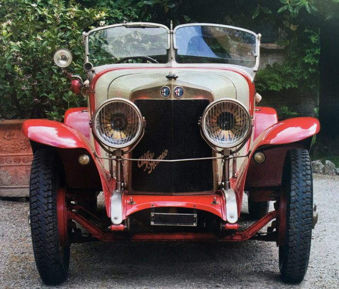 1925 Alfa Romeo RLSS Castagna, ex Zanotelli now Righini Collection.