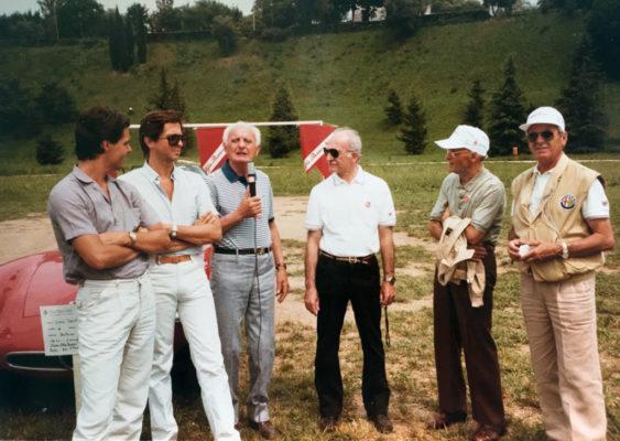 1984 Bassano del Grappa. D'amico, Villoresi, Moroni, Sanesi and Bonini.