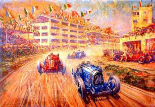 Crosby Frederick Gordon Duello alle tribune Targa Florio 1931 1